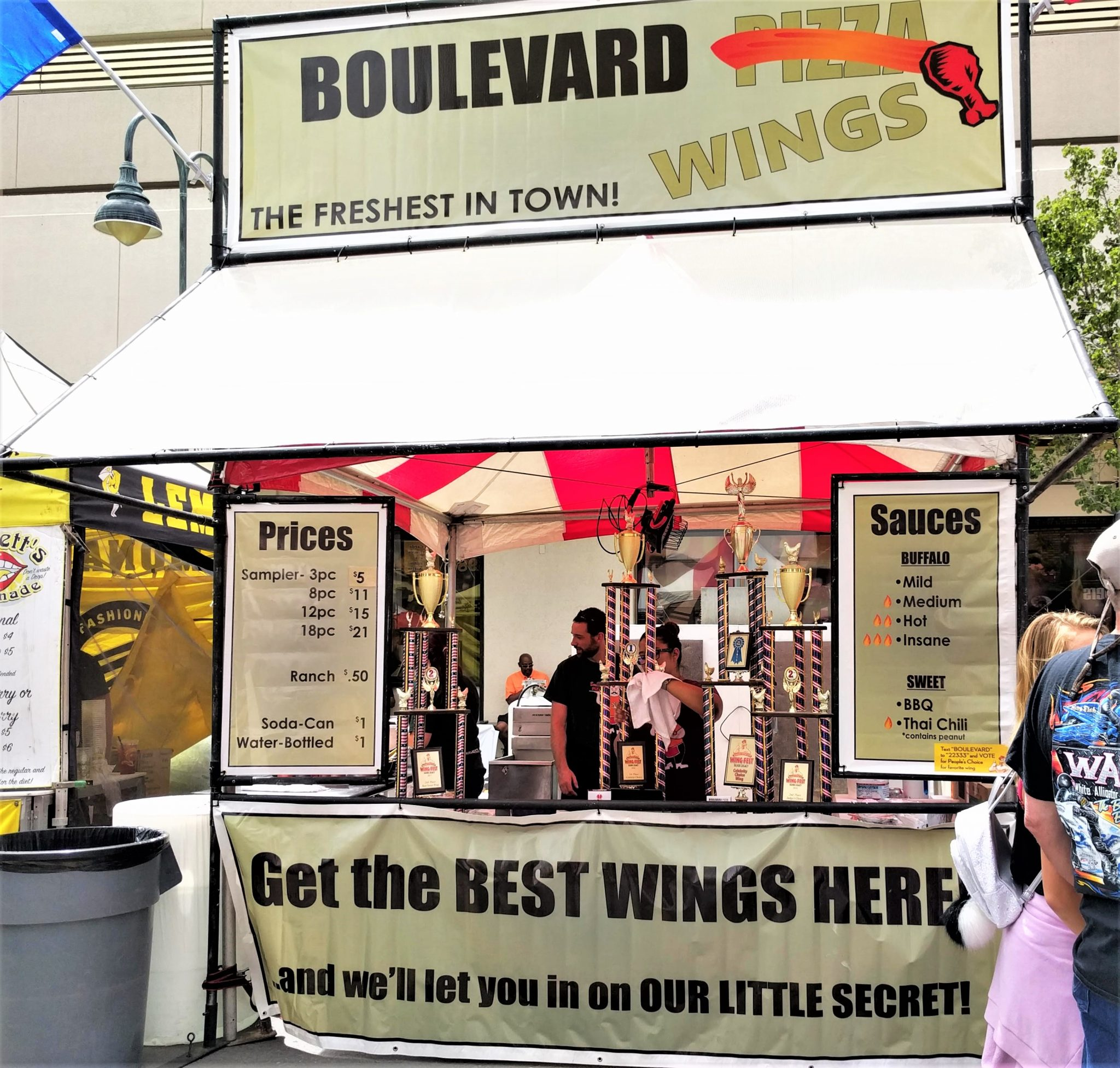 Boulevard Pizza and Wings